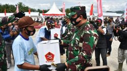 "4 Ribu Paket ""Cinta"" Panglima TNI Mendarat di Luwu Utara"