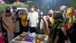 Hari Pertama Kampanye, Thahar-Rahmat Dicegat di Jalan
