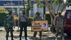 Operasi Yustisi Gencar di Sinjai, Aparat Gabungan Razia Masker Pengguna Jalan