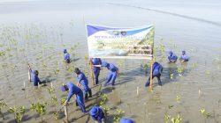 Kiat Khusus Dit Polairud Polda Sulsel Tangkal Abrasi Pantai