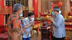 Penuh Kekeluargaan, Deng Ical Silaturahmi Pengurus Yayasan Kelenteng Xian Ma