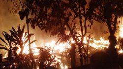 Empat Rumah Warga di Bone Ludes Terbakar