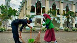 """Cie, Brimob Bone Gandeng Mahasiswi IAIN """"Jumpa Berlian"""" di Masjid"""