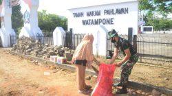 Begini Aksi Kodim Bone Memaknai HUT TNI Ke-75