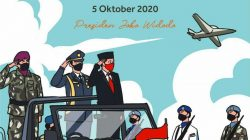 Wejangan Khusus HUT Ke-75 TNI ala Presiden Jokowi, Yuk Disimak!