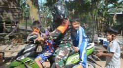 "Satgas TMMD ke-109 ""Suntik"" Jiwa Kebangsaan Anak-Anak Desa Sidrap"