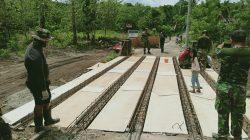 Genjot Pekerjaan, Satgas TMMD Sidrap Pengerasan Jalan 8 Km