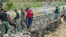 Kabar Gembira, Soal Pembangunan Saluran Irigasi TMMD 109 di Buae Sidrap