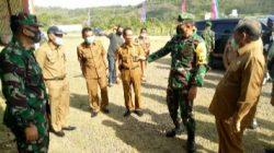 Tim Wasev PJO TMMD ke-109 Sambangi Sidrap, Dandim Paparkan Progres