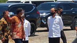 Presiden Jokowi Resmikan Pabrik Gula Milik Amran-Isam