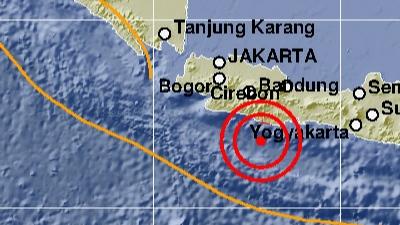 Astaga, Gempa 5.9 SR Guncang Pangandaran