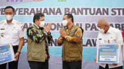 Wagub Sulsel Saksi BNPB Kerja Sama Unhas Soal Pendampingan Ekonomi