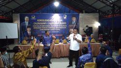 Janji Manis Wakil Ketua DPR RI Rahmat Gobel  Menangkan Paslon di Luwu Utara