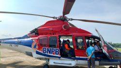 Pakai Helikopter, Kepala BNPB Tinjau Aktivitas Gunung Merapi
