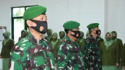 Tradisi Satuan Laporan Korps, Danrem Titip Pesan Khusus untuk Pejabat Baru