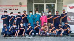 Keren, 16 Komunitas Motor 3 Kabupaten Kumpulkan 122 Kantong Darah