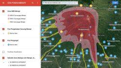 Pakai Ini, Identifikasi Posisi Terhadap KRB Gunung Merapi