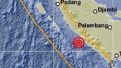 Warga Panik, Bengkulu Dilanda Gempa M5,0