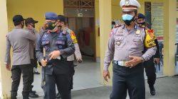 Totalitas Brimob Jaga Kondusifitas Keamanan Sidang Rekapitulasi di Selayar
