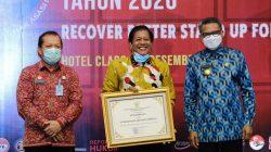 Top, Soppeng Sabet PenghargaanKabupaten Peduli HAM