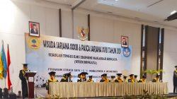 STIEM Bongaya 'Telurkan' 853 Wisudawan, Ketua Yayasan: Tunjukkan Jati Diri