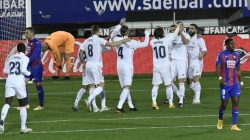 Real Madrid Bungkam Tuan Rumah Eibar 3-1