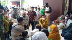 Terjun ke Lokasi Banjir, Camat Syahrum Kawal Pj Wali Kota Makassar