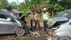 Dua Mobil 'Ciuman' di Wajo, Dua Nyawa Melayang di Poros Makassar-Palopo