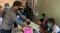 Temukan Warga Kurang Mampu, Kapolres Iwan Ketuk Hati Dermawan