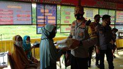 Pandemi Covid-19, Polres Soppeng Intens Salurkan Bantuan