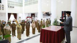Lantik  Pejabat, Pj Wali Kota Makassar Titip Pesan Ini