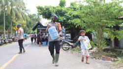 Brimob Polda Sulsel Hadirkan Dapur Lapangan dan Water Treatment di Sulbar