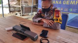 Misi Ganda Danyon Ichsan di Lokasi Gempa Sulbar