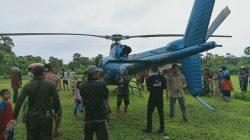Helikopter Milik BPBD Sulsel Mendarat Darurat di Jeneponto, Ini Alasannya