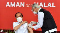 Disuntik Vaksin Covid-19 Pertama di Indonesia, Ini 'Curhatan' Presiden Jokowi
