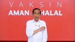 Sisi Lain Penyuntikan Vaksin Covid-19 Kepada Presiden, Jokowi: Saya Lihat Memang