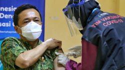 Kesan Divaksin, Pj Wali Kota Makassar Sebut Jarum Seperti Suntik Bayi