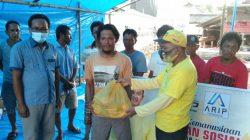 ARIP Foundation Bergerak Ringankan Beban Korban Kebakaran di Lamurukung