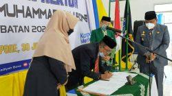 Resmi, Ini Sosok Nakhoda Baru Rektor Universitas Muhammadiyah Bone