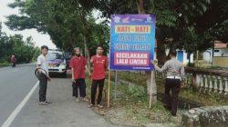 Antisipasi Kecelakaan di Jalan, Polres Bulukumba Lakukan Hal Ini