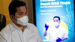 Menteri Erick Tohir : Setiap Dosis Vaksin Ada Barcodenya