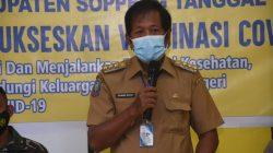 Bupati Soppeng Ajak Warga Berani Vaksin Covid-19, 'Warning' bagi Pengusaha Warkop