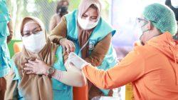 Vaksin Covid-19 Sinovac Perdana di Parepare, Segini Pejabat Disisir