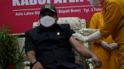 Takut Jarum Suntik, Ketua DPRD Bone: Soal Divaksin Covid-19, Saya Berani