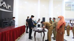 Mutasi di Pemkot Makassar Bergulir, Pj Rudy Lantik Fungsional