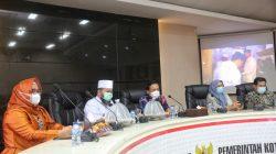 Wali Kota Bengkulu Belajar Tangani Covid-19 di Makassar