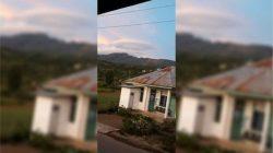 Awan Berbentuk Ufo Gegerkan Warga di Langit Jeneponto