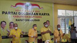 Taufan Pawe Isyaratkan Meyrza Farid 'Lampu Hijau' Nakhodai Golkar Bantaeng
