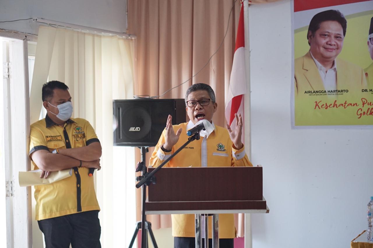 Taufan Pawe Dorong Ketua Golkar Banyak Mimpi