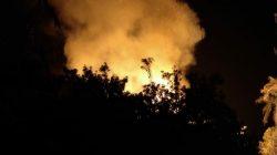 Rumah Kebakaran di Jalan Bahagia Bone